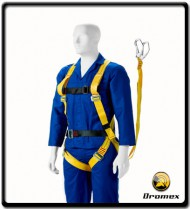 Full Body Harness Double Lanyard with Scaffhold Hooks & Belt