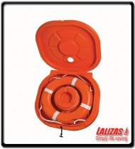 Container with Door for Lifebuoy Ring