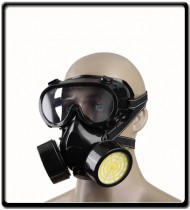 Spray Painting Respirators with Goggles