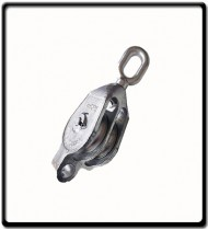 12mm Galvanized Double Pulley