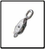 12mm Galvanized Single Pulley