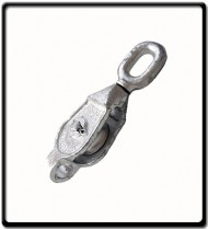16mm Galvanized Single Pulley