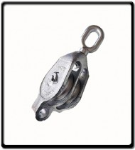 16mm Galvanized Double Pulley