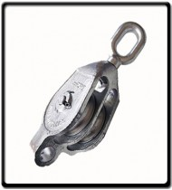 24mm Galvanized Double Pulley