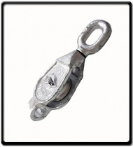 18mm Galvanized Single Pulley