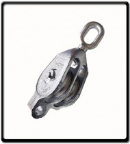 18mm Galvanized Double Pulley