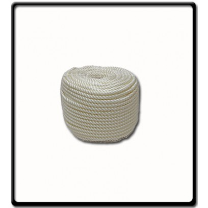 8mm Polyrene 3-Strand Rope | SOLD PER METER