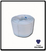 24mm Polyrene 3-Strand Rope | SOLD PER METER