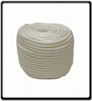 34mm Polyrene 3-Strand Rope | SOLD PER METER