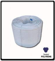 38mm Polyrene 3-Strand Rope | SOLD PER METER