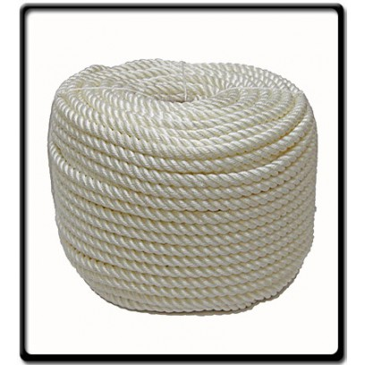 40mm Polyrene 3-Strand Rope | SOLD PER METER