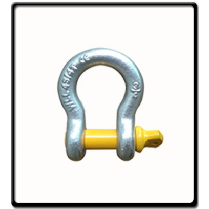 13.5 Ton | Bow - Shackle | Screw Pin Type, Grade S, Yellow Pin