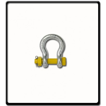 1.0 Ton | Safety Pin Bow - Shackle | 10mm - 3/8''