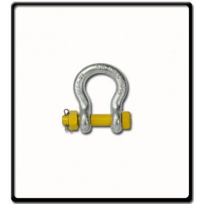 1.5 Ton | Safety Pin Bow - Shackle | 11mm - 7/16''
