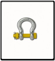 2.0 Ton | Safety Pin Bow - Shackle | 13mm - 1/2''