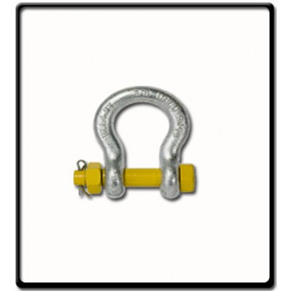 3.25 Ton | Safety Pin Bow - Shackle | 16mm - 5/8''