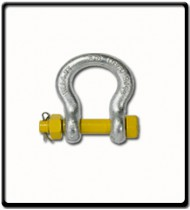 6.5 Ton | Safety Pin Bow - Shackle | 22mm - 7/8''