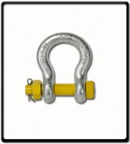 8.5 Ton | Safety Pin Bow - Shackle | 25mm - 1''