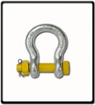 9.5 Ton | Safety Pin Bow - Shackle | 28mm - 1 1/8''