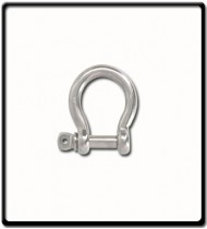 6mm Bow Shackle | Stainless Steel