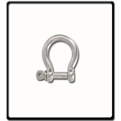 8mm Bow Shackle | Stainless Steel