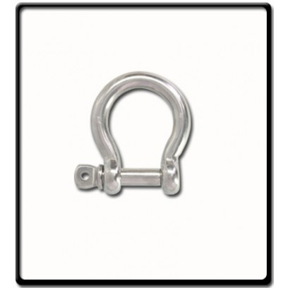 12mm Bow Shackle | Stainless Steel