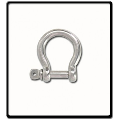 16mm Bow Shackle | Stainless Steel