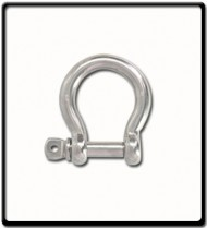 22mm Bow Shackle | Stainless Steel