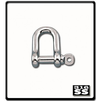 16mm D-Shackle | Stainless Steel