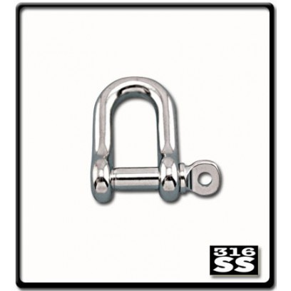 20mm D-Shackle | Stainless Steel
