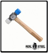 350g Hickory Double Face Mallet  - 12oz   Wooden Handle
