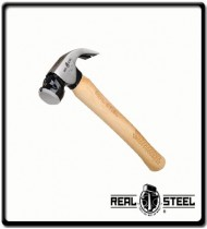 450g Hickory Curved Claw Hammer, 16 oz   Wooden Handle