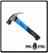 454g Jacketed  Curved Claw Hammer, 16 oz   Graphite Handle