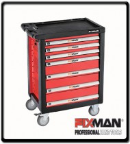 7 - Drawers Roller Cabinet - Empty| Fixman
