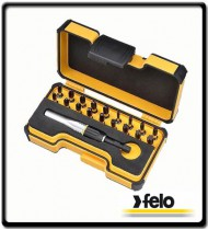 19Pc Industrial Impact Screw Driver Bits Set | Felo Tools