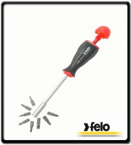 8Pc S/Driver Magazine Handle Bit Holder | Felo Tools