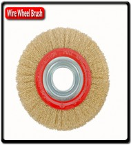 Bench Wire Brush |150 x 25mm