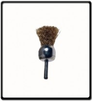 WIRE END BRUSH 30MM X 6MM SHAFT BLISTER