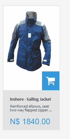 Sailing and fishing jackets